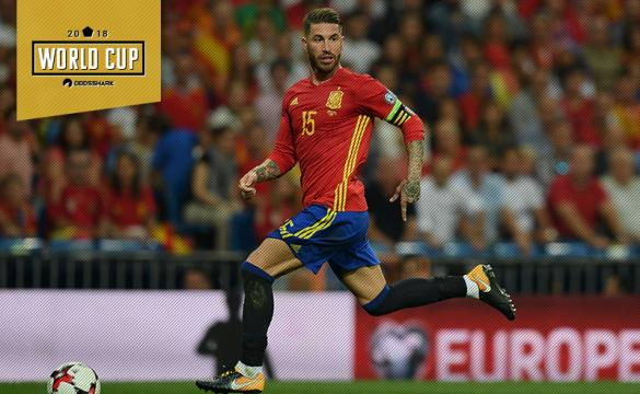 Sergio Ramos Spain World Cup 2018