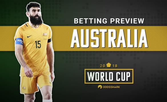 Breakdown of Australia for 2018 FIFA World Cup Betting Odds