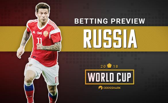 Russia 2018 World Cup Betting Odds Fedor Smolov