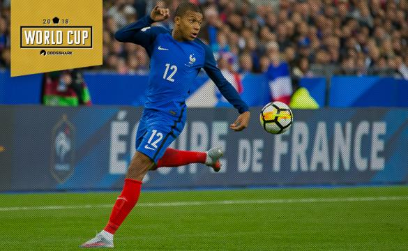 Kylian Mbappe 2018 World Cup