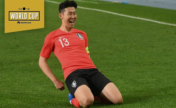 Son Heung-min South Korea 2018 FIFA World Cup