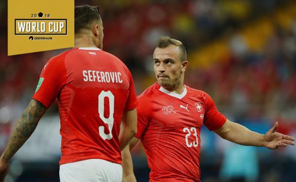 Switzerland vs Serbia Betting Odds Seferovic Shaqiri