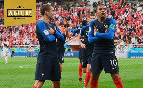 France Mbappe Griezmann World Cup 2018