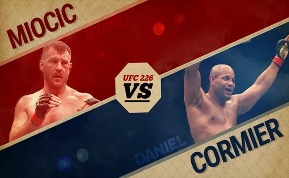 stipe miocic daniel cormier ufc 226 main event heavyweight championship
