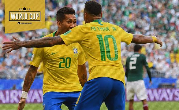 Neymar Assists Roberto Firmino's Goal in Brazil's 2-0 Win Over Mexico