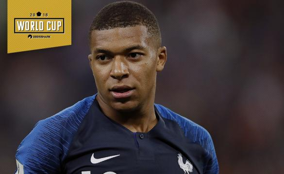 Kylian Mbappe France Croatia 2018 FIFA World Cup Final