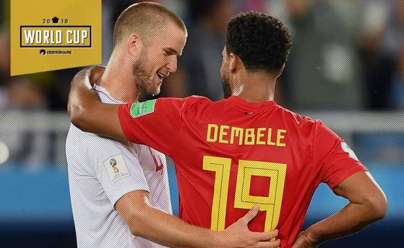 Moussa Dembele Eric Dier World Cup 2018