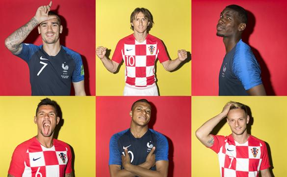 France and Croatia Meet in Sunday's World Cup Final