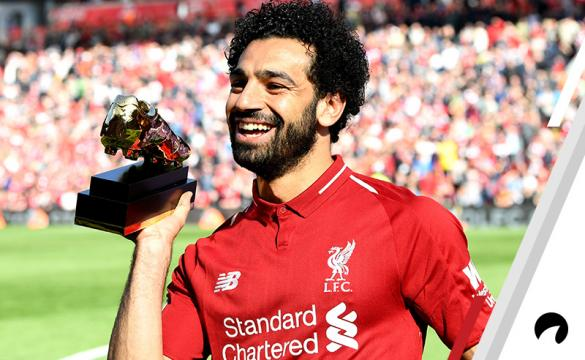 Mohamed Salah Liverpool Premier League Top Goalscorer Odds