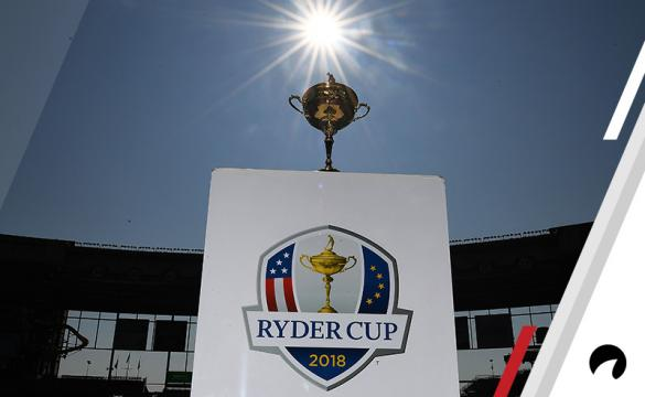 A detailed view of the Ryder Cup Trophy during the Ryder Cup Trophy Tour at Miller Park on August 22, 2018 in Milwaukee, Wisconsin.