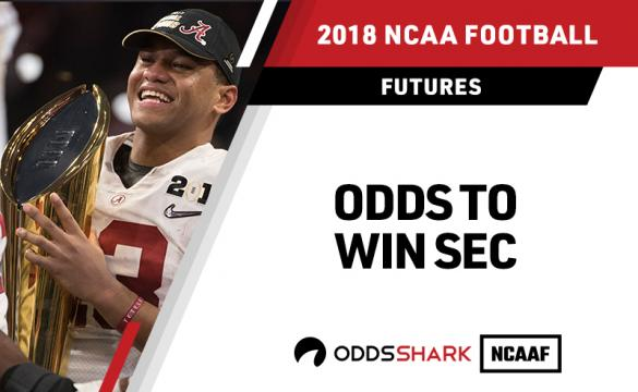 Odds to win the SEC