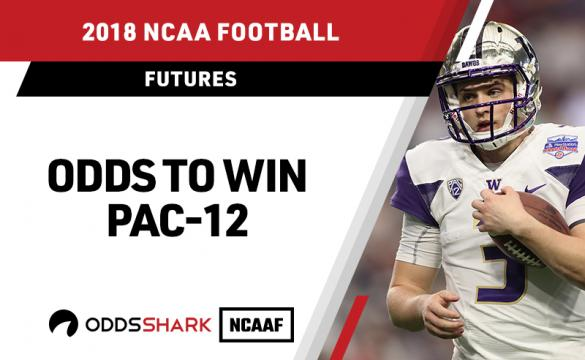 Odds to win the Pac-12