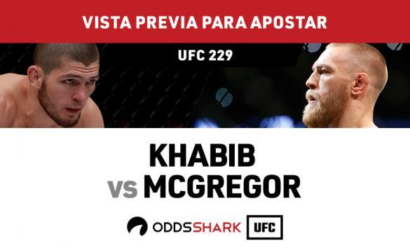 Khabib vs McGregor cuotas y pronóstico