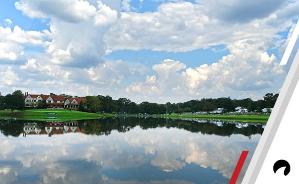 A course scenic view of East Lake during the first round of the TOUR Championship, the final event of the FedExCup Playoffs, at East Lake Golf Club on September 21, 2017 in Atlanta, Georgia.