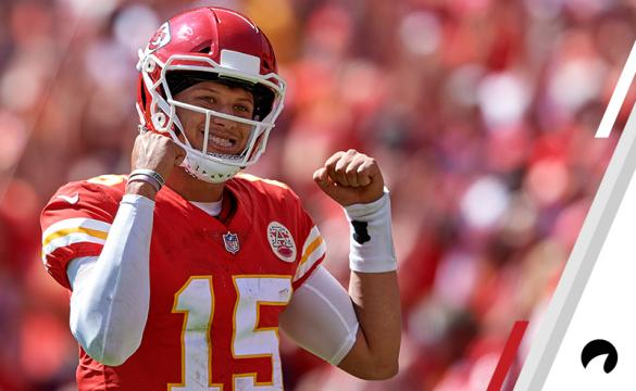 Mahomes Celebrates Yet Another Touchdown Pass