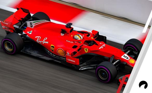 Sebastian Vettel of Germany driving the (5) Scuderia Ferrari SF71H needs a win this weekend at the Russian Grand Prix