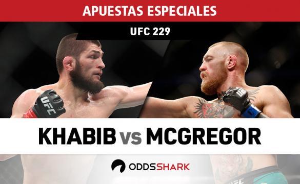 Apuestas especiales del UFC 229: McGregor vs Khabib
