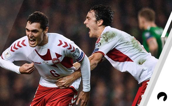 Andreas Christenson Denmark vs Ireland UEFA Nations League soccer betting odds