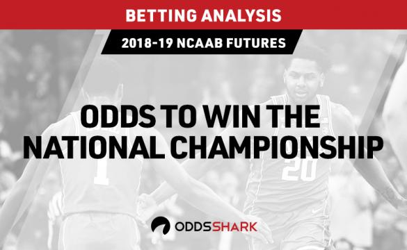 Odds to win the NCAAB national championship
