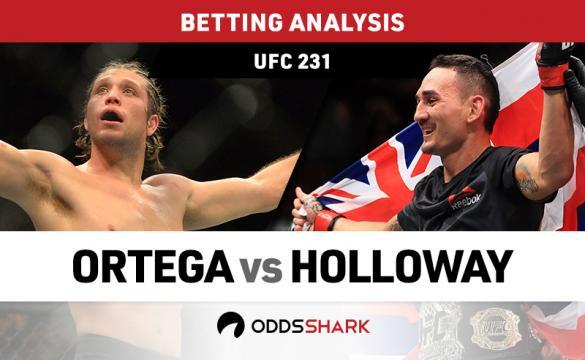 Holloway vs Ortega Betting Odds