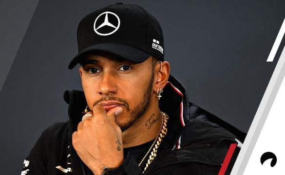 Lewis Hamilton of Great Britain and Mercedes GP talks in the Drivers Press Conference during previews ahead of the United States Formula One Grand Prix at Circuit of The Americas on October 18, 2018 in Austin, Texas, United States