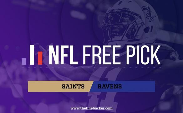 Saints Ravens Linebacker Pick