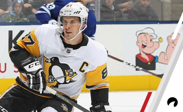 Sidney Crosby #87 of the Pittsburgh Penguins skates against the Toronto Maple Leafs during an NHL game at Scotiabank Arena on October 18, 2018 in Toronto, Ontario, Canada. The Penguins defeated the Maple Leafs 3-0.