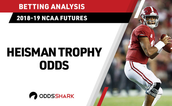 2018 Heisman Trophy Betting Odds