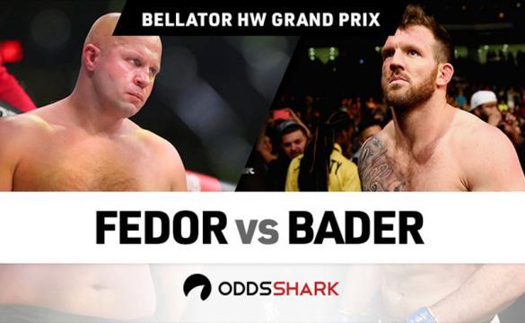 Análisis para apostar en el Bellator: Fedor Vs Bader
