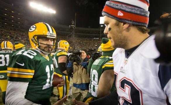 Rodgers e Brady
