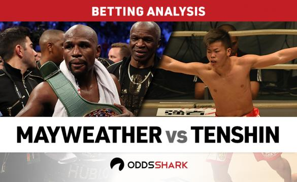 Mayweather Jr. vs Tenshin Betting Odds