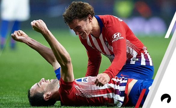 Diego Godin Antoine Griezmann Atletico Madrid Odds to win 2018-19 La Liga title Spain soccer