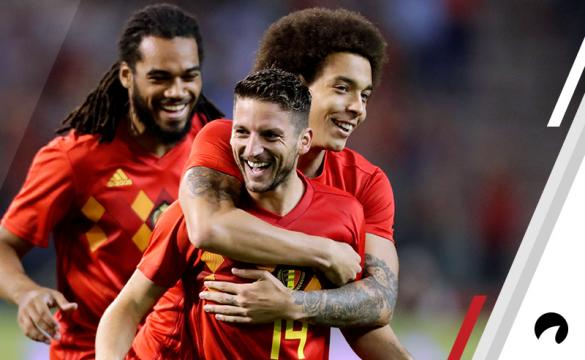 Dries Mertens Belgium vs Iceland UEFA Nations League soccer