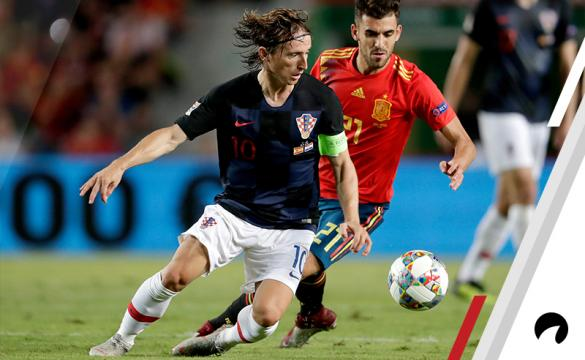 Spain Croatia UEFA Nations League soccer betting odds