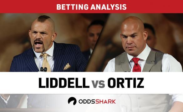Liddell vs Ortiz Betting Odds
