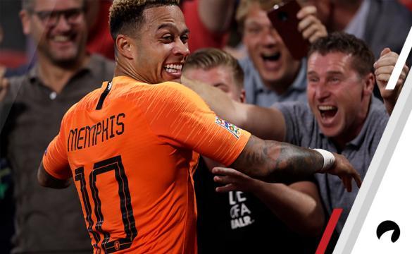 Memphis Depay Holland France UEFA Nations League soccer betting odds