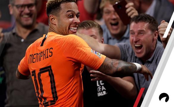 Memphis Depay Holland France UEFA Nations League soccer betting odds