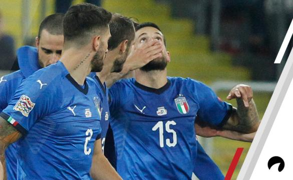 Cristiano Biraghi Italy Portugal UEFA Nations League soccer betting odds