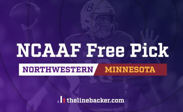 Linebacker Free pick Northwestern vs Minnesota