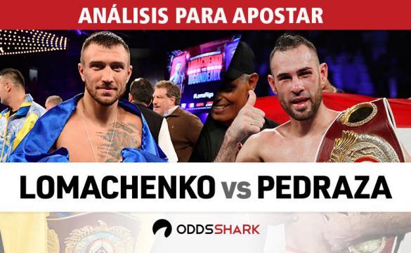 Análisis para apostar en el Lomachenko vs Pedraza