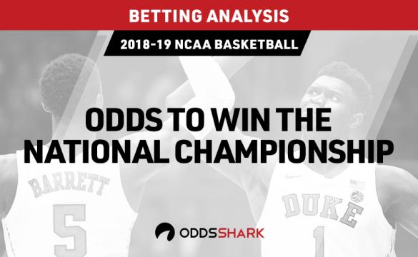 Odds to win the college basketball national championship
