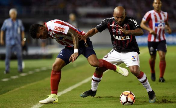 Previa para apostar en el Atlético Paranaense Vs Atlético Junior de la final de la Copa Sudamericana