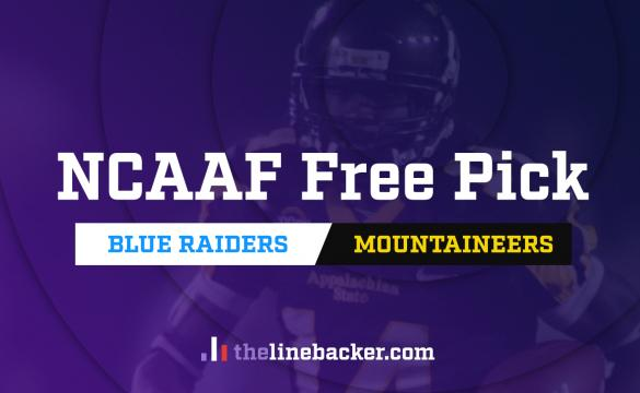 linebacker free pick Middle Tennessee vs Appalachian State