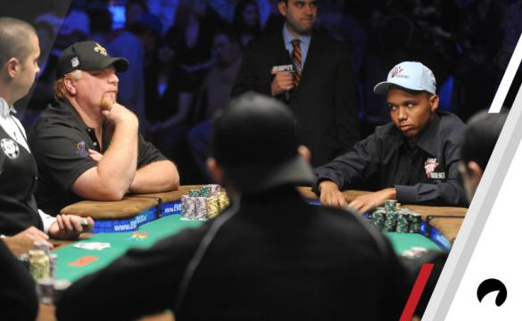 Phil Ivey's patented poker face.