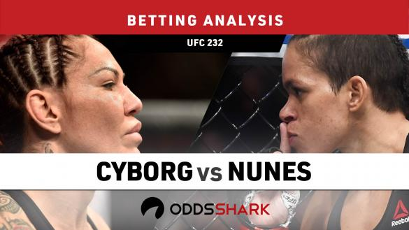 UFC 232 Cyborg vs Nunes Betting Odds