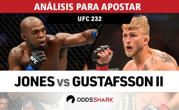 Análisis para apostar en el UFC 232: Jones Vs Gustafsson 2