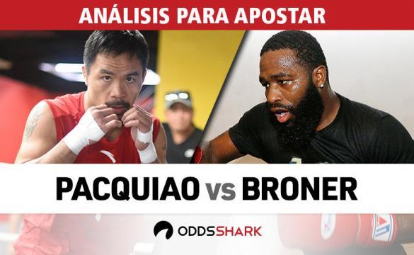 Previa para apostar en el combate de boxeo entre Manny Pacquiao vs Adrien Broner