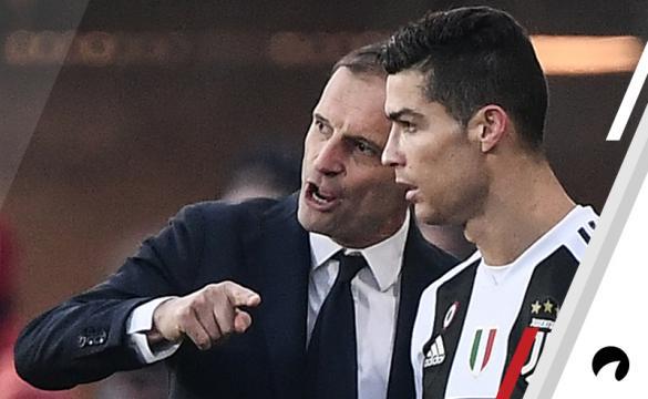 Massimiliano Allegri Cristiano Ronaldo Odds to Win 2018-19 Serie A soccer Italy