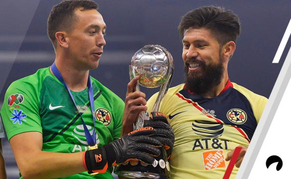 Oribe Peralta Agustin Marchesin Club America Odds to win 2019 Liga MX Clausura