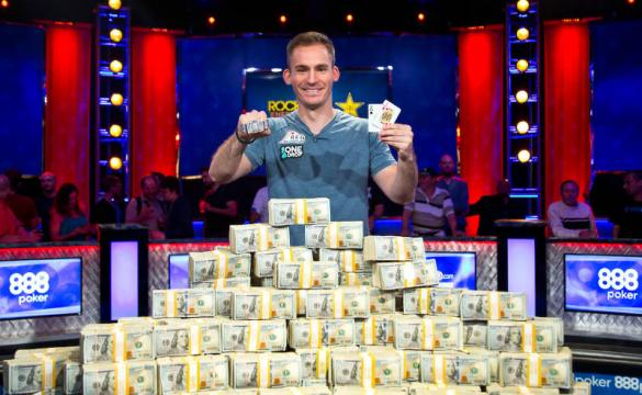 Justin Bonomo WSOP photo